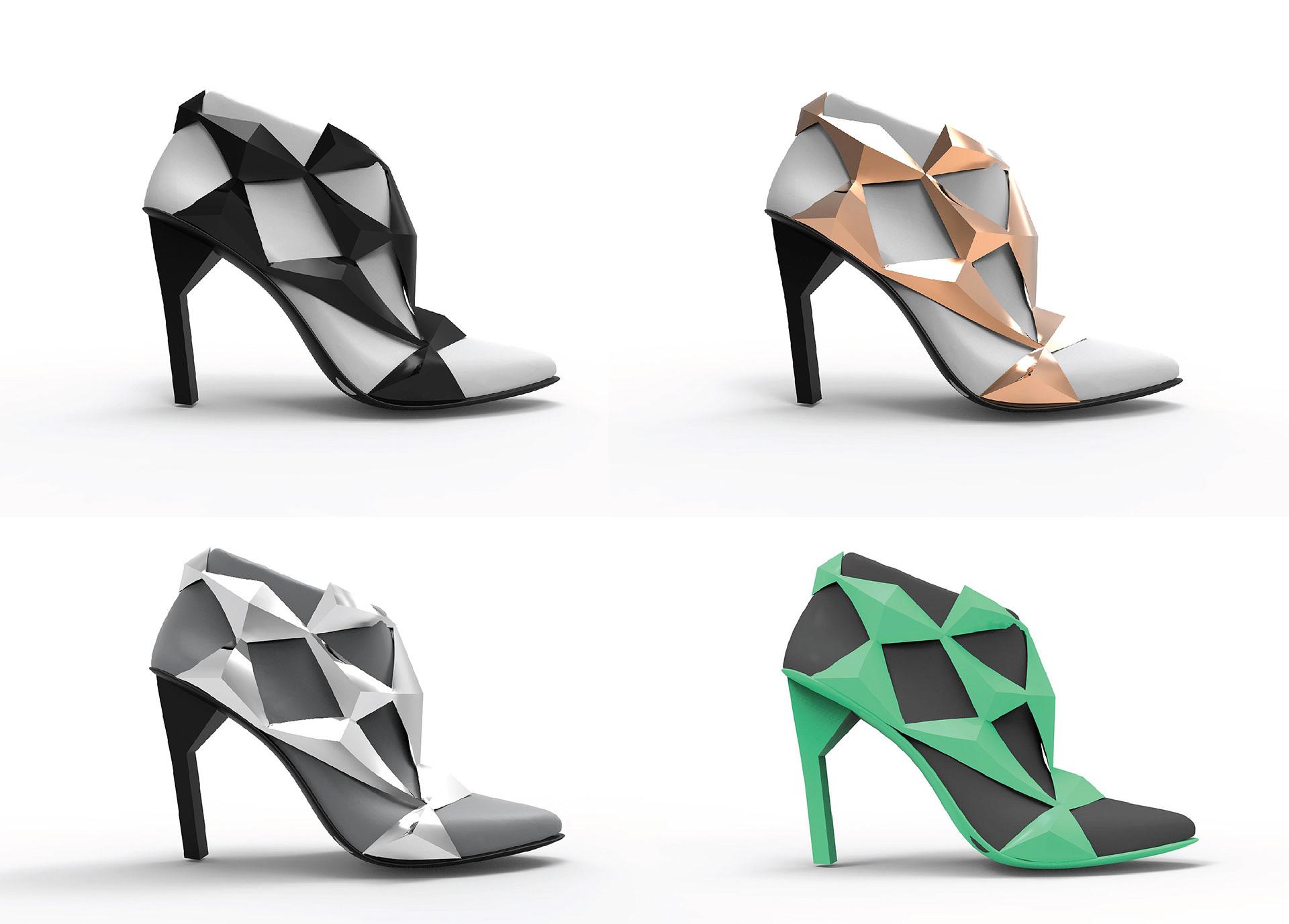 michal kukucka - United Nude / 3D printed shoe development
