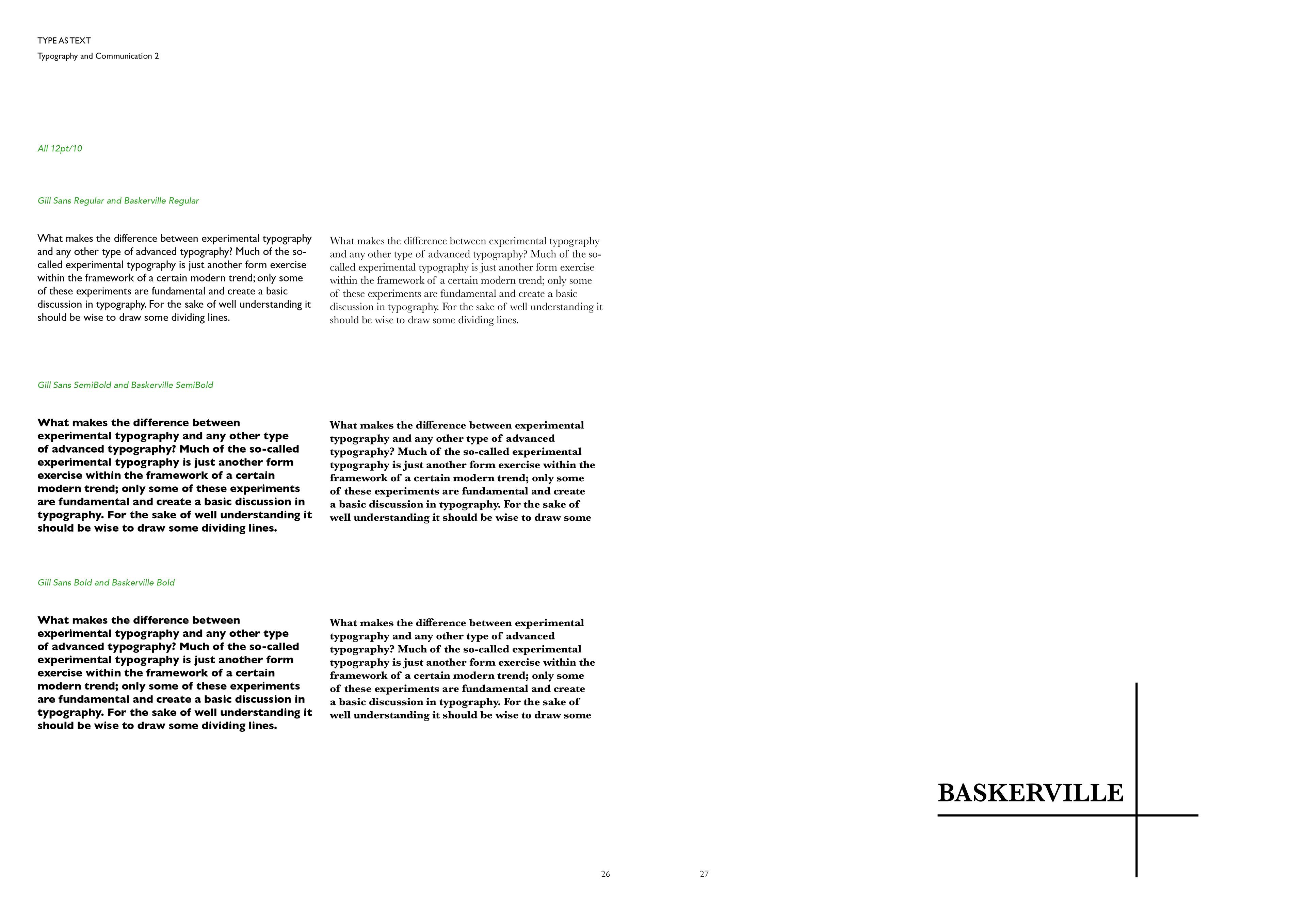 Andrea Magra Portfolio - TYPE STUDIES