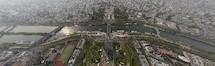Panorama Tour Eiffel - Paris, France