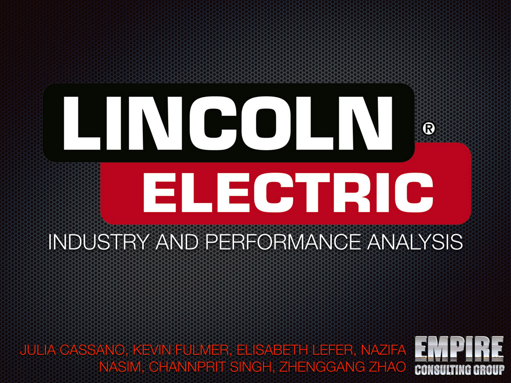 lincoln electric essays