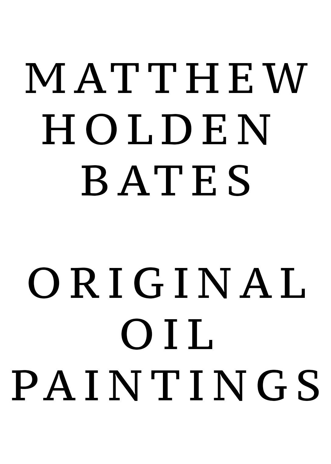 Matthew Bates