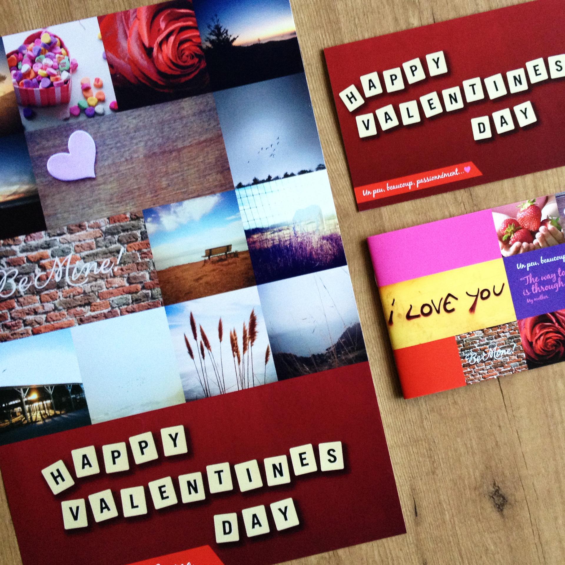 Sarah Kinkade HP MagCloud Holiday Template Design Valentines Day - Hp brochure templates