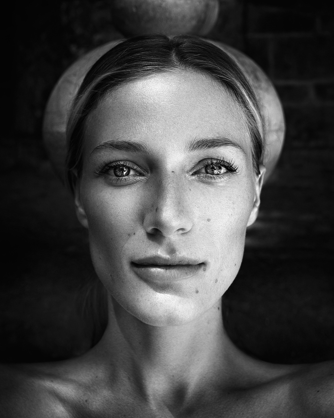 Mitja kobal portrait women in monochrome