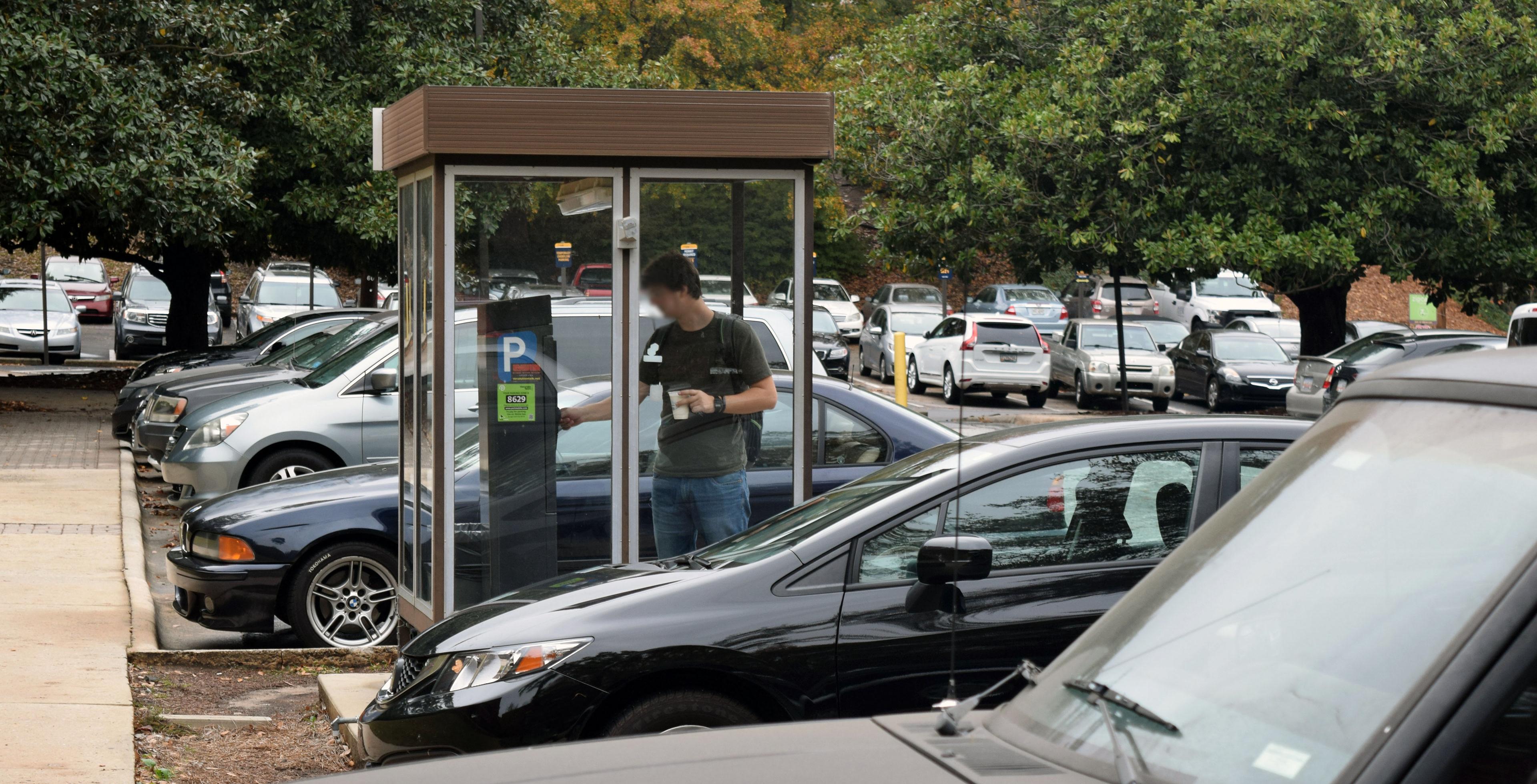 Kelsie Thomas Parking Kiosk
