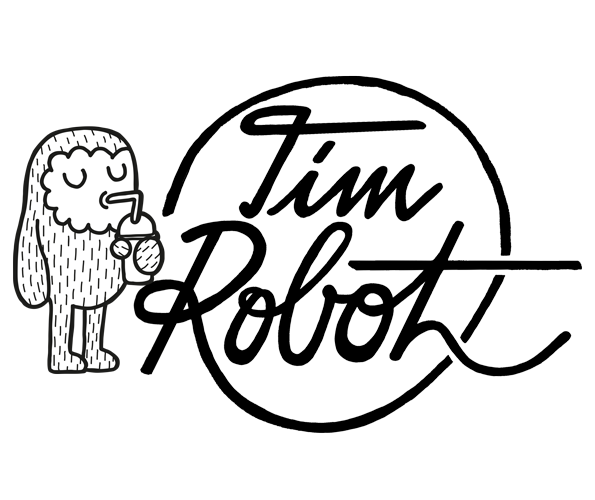 timrobot.com graphic design, illustration & fun