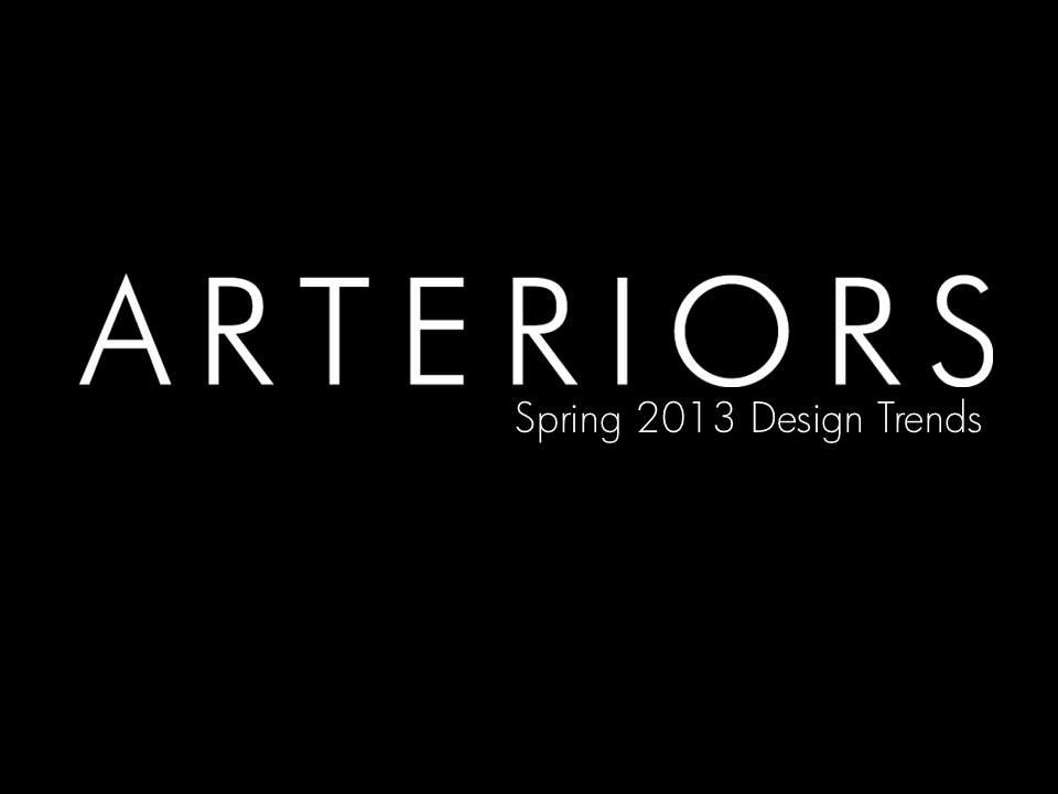 Arteriors Spring 2013 Design Trends