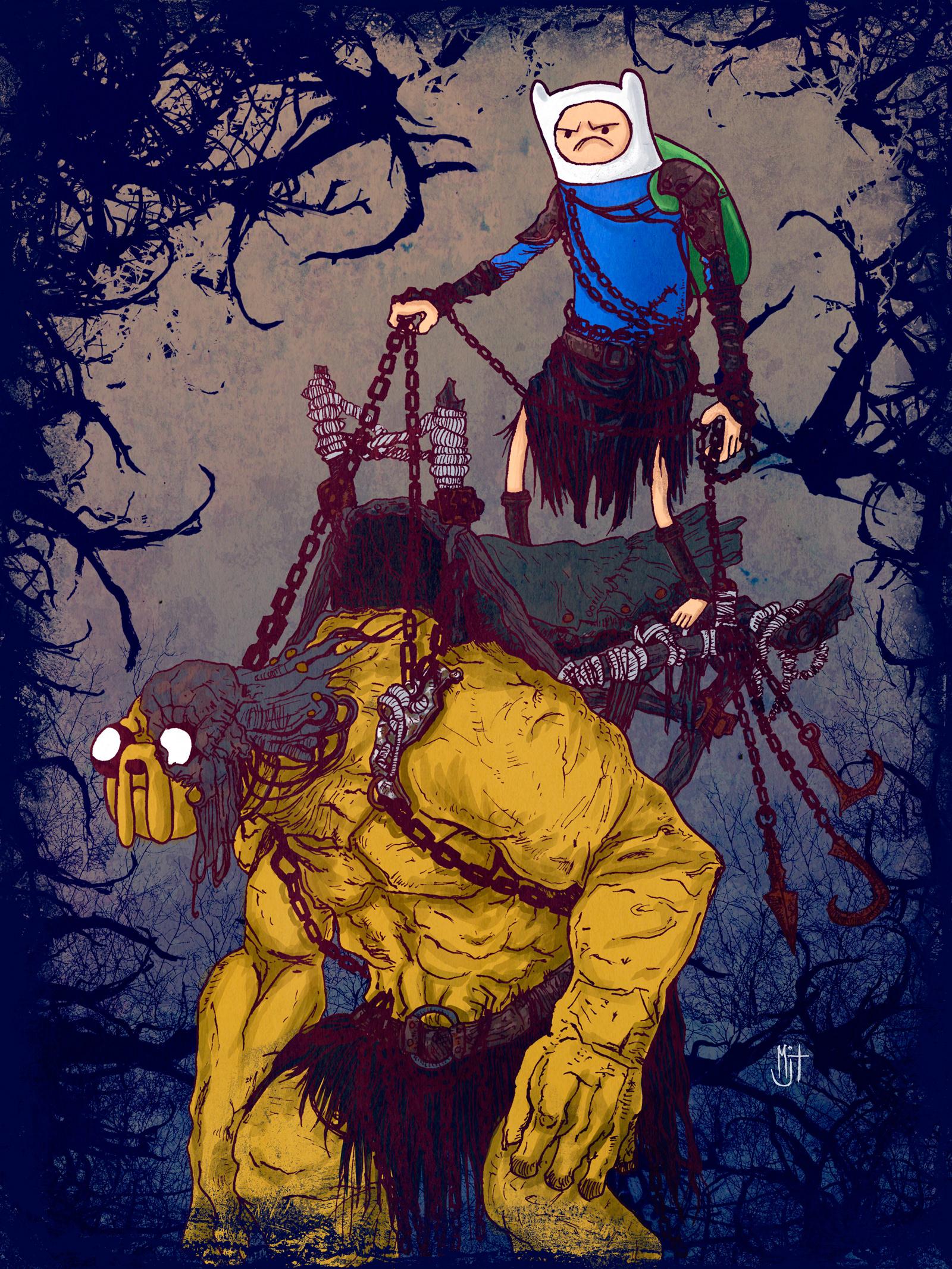 Vladimir Kiselev best mashup ever Artorias from dark souls ... |Dank Souls Adventure Time