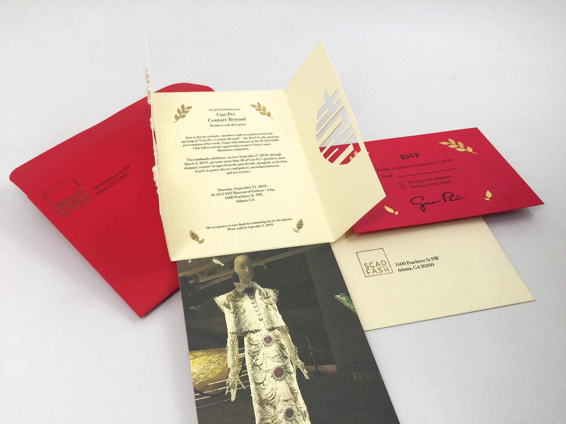 Song Choi - Invitation Design