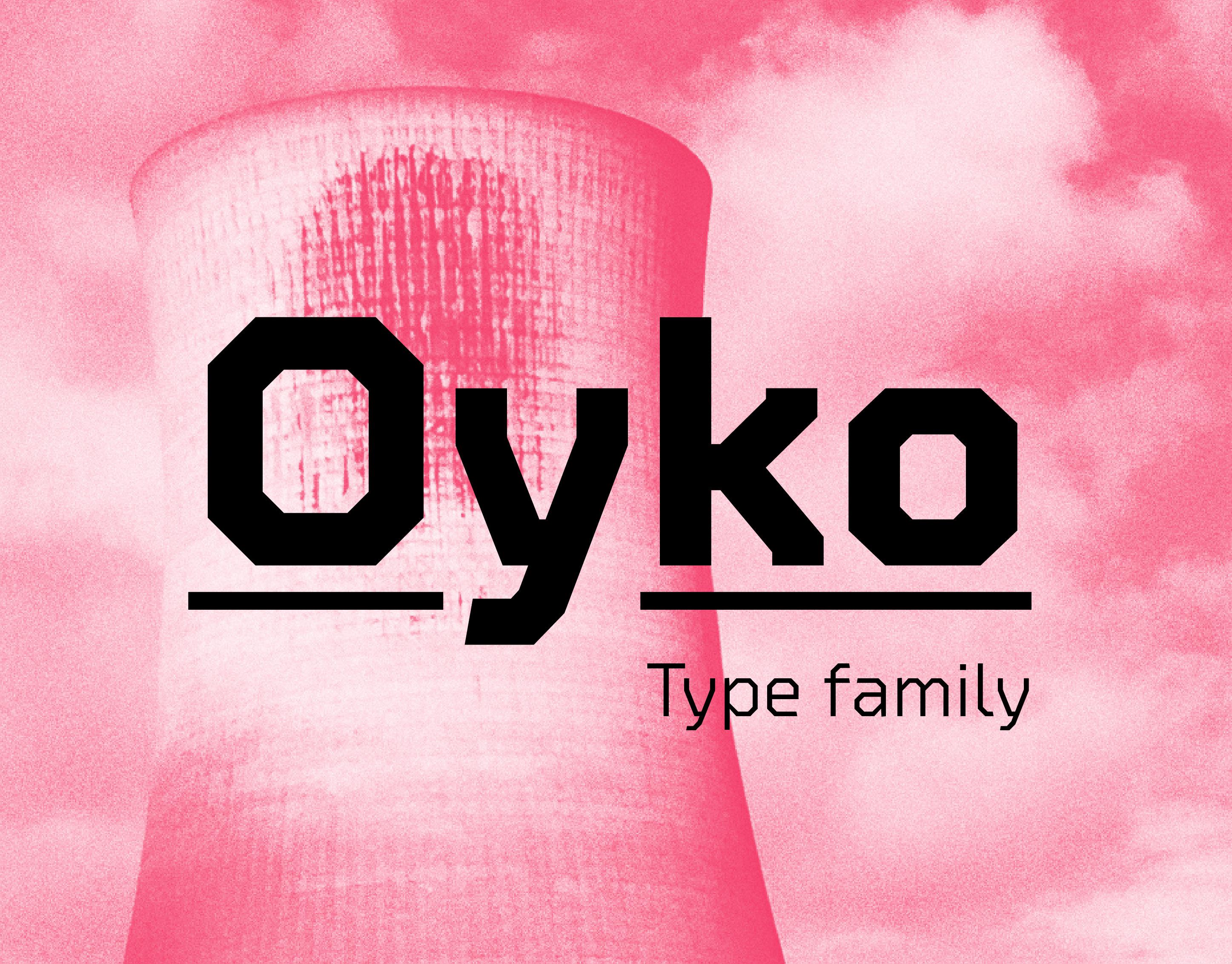 Jonathan Hill - Typeface Designer - Oyko - Type Family
