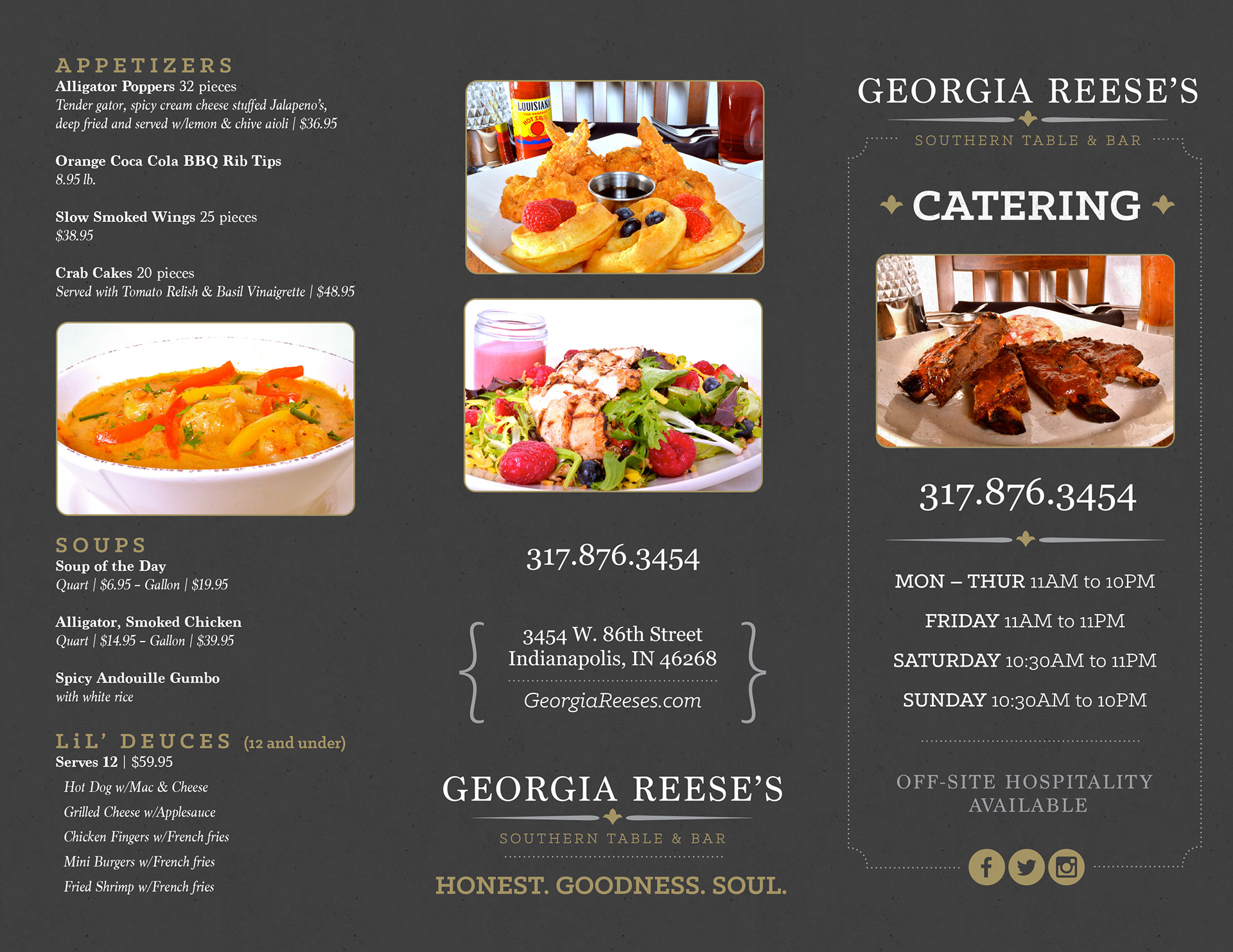 doug kuhn graphic design portfolio georgia reese s catering tri