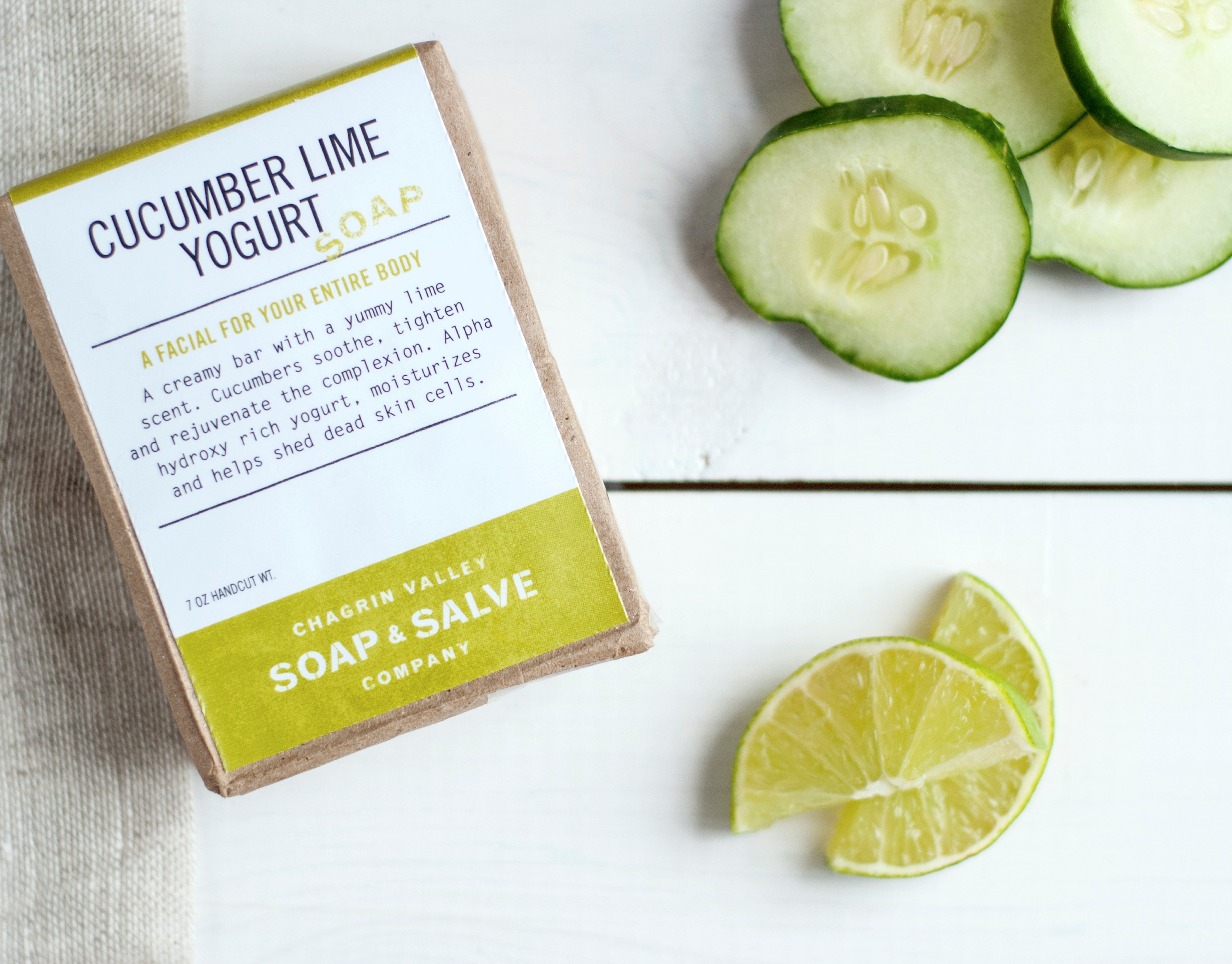Liz Wilkins - Chagrin Valley Soap Packaging