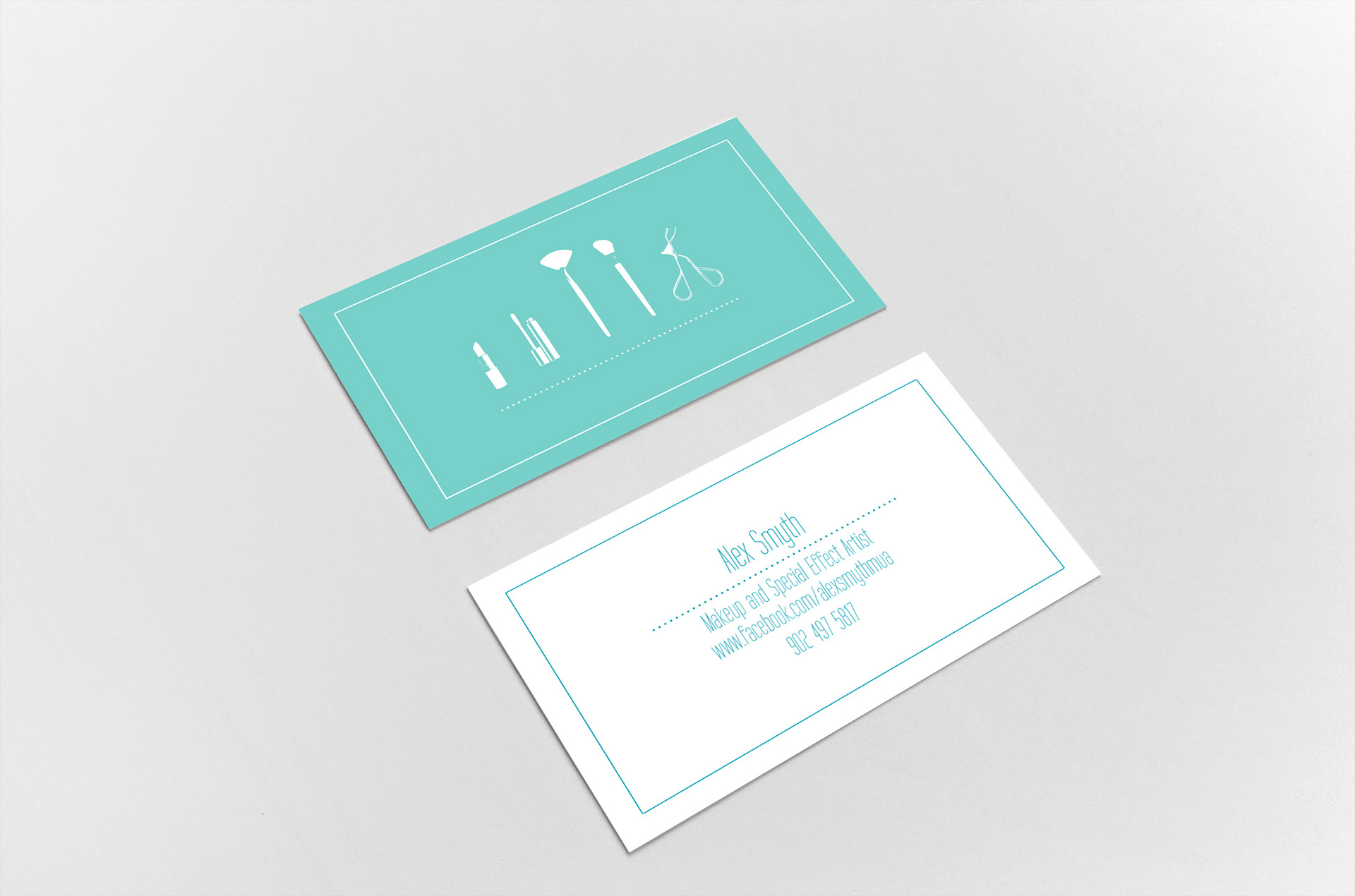 Jessamyn Vanechuk Mua Business Card