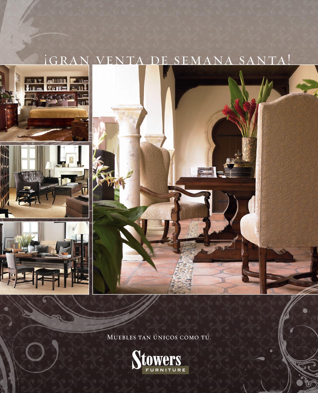 Eleazar Hernandez Creative Director Stowers Furniture # Muebles Didecor