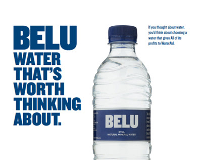 Alexandra Kett - Belu WaterAid Campaign