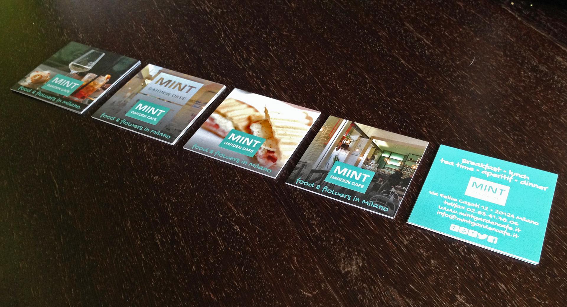 Raffaella isidori portfolio mint garden caf milano it mint garden caf milano business cards 2014 magicingreecefo Image collections