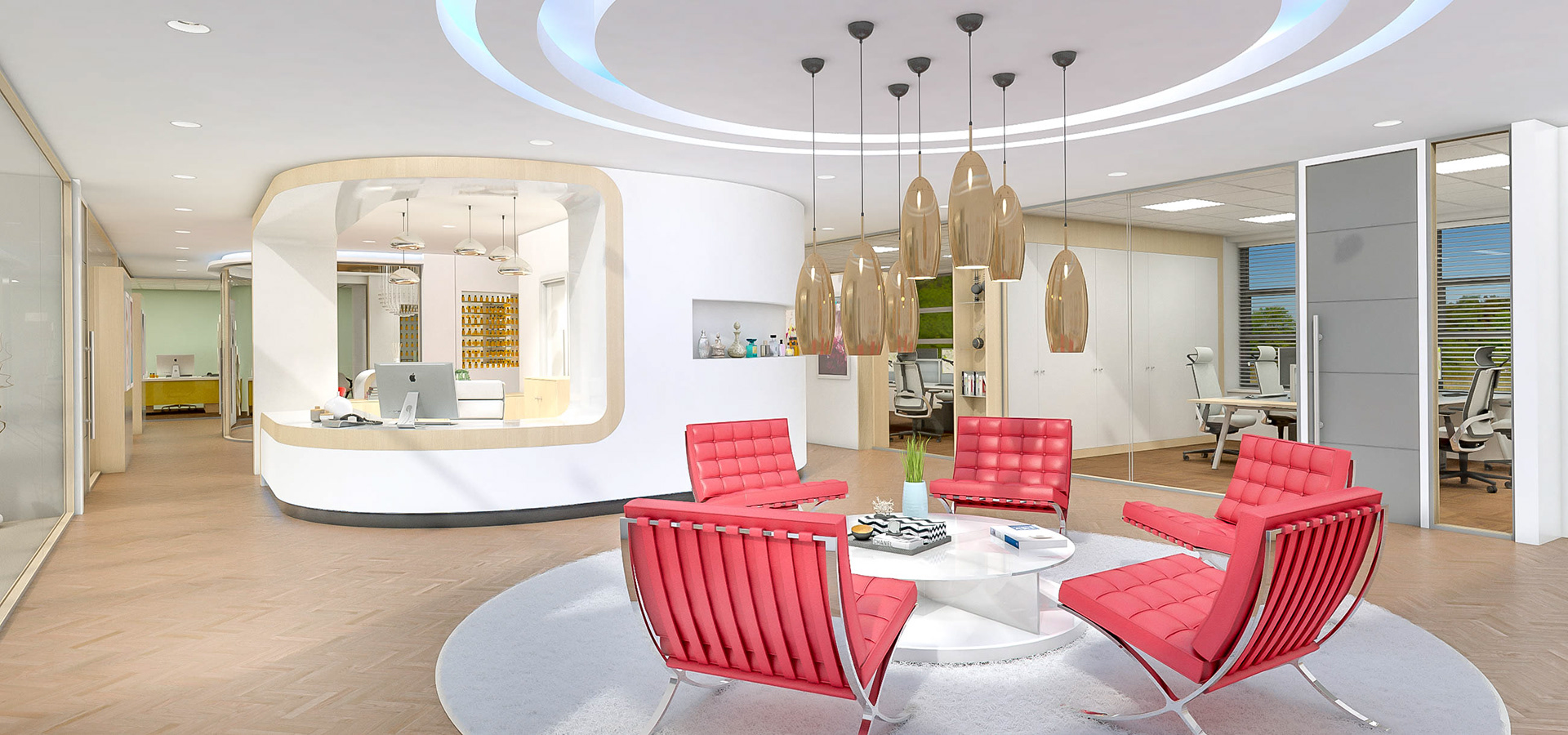 office lobby interior design office room. Client Visual For Office Lobby Area Interior Design Room