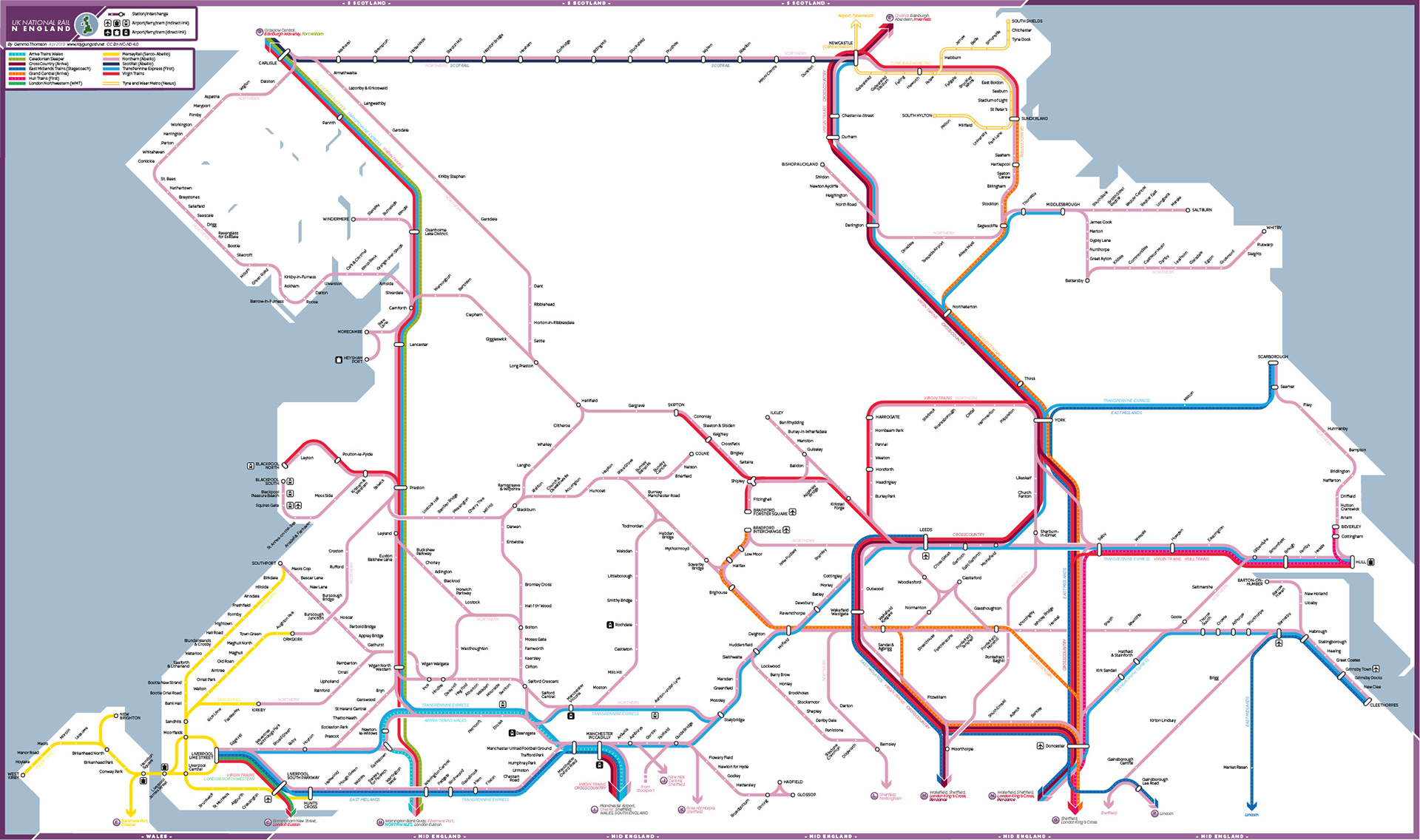 National Rail Uk Map.Gemma Thomson Uk National Rail Maps