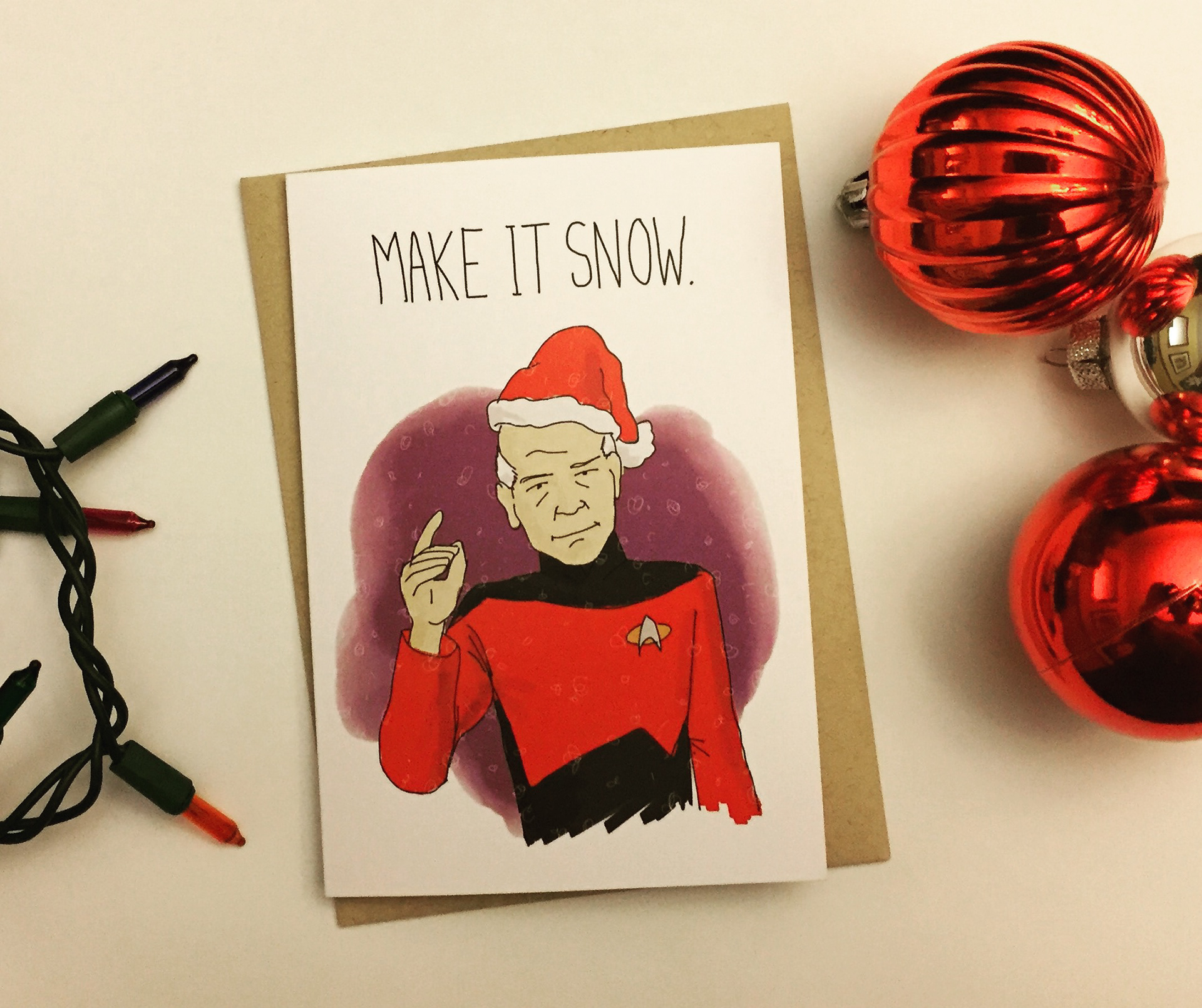Nathan T. Wright Illustration - Nerdy Holiday Greeting Cards