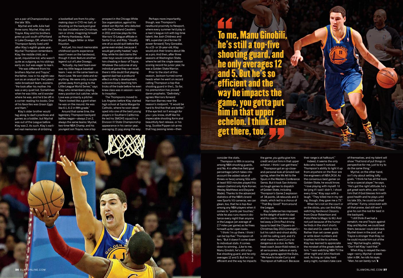 Dom Rinaldi Feature Advertorial Design For Slam Magazine