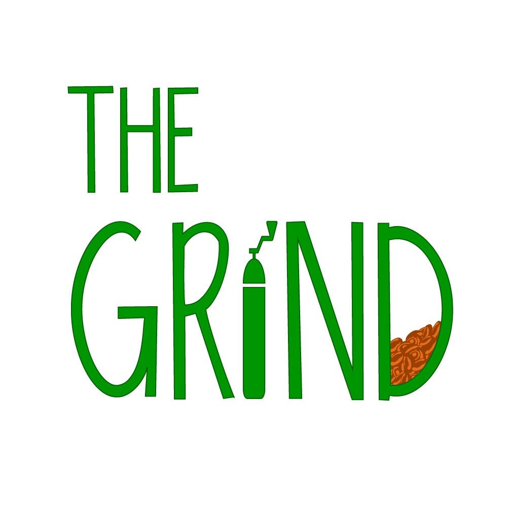 The Grind Logo Could Be Text Based Or Have An Icon Were Open To Either Both Using Symbols That Represent Coffee Such As Bean