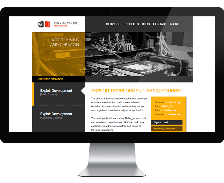 Adrian Cogliano - Portfolio - Branding + Web  GroundWorks