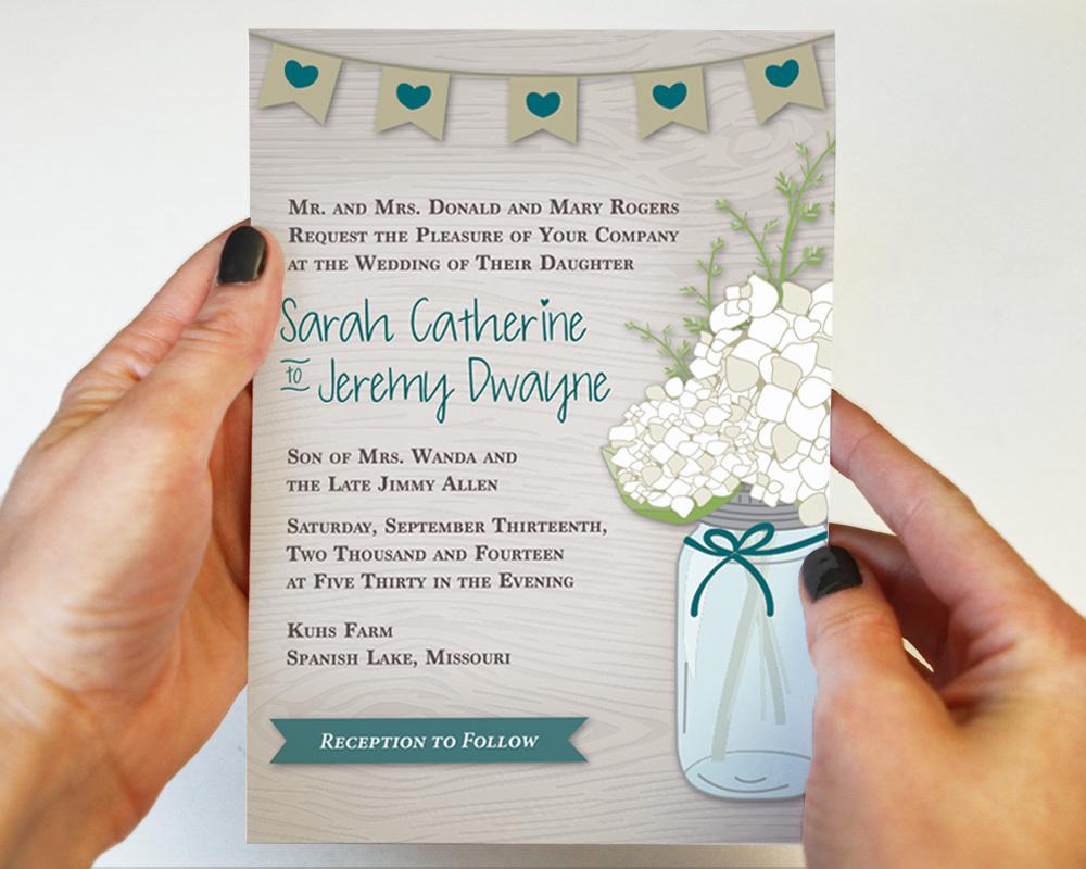 Steffanie Pisula - Rustic Wedding Invitations