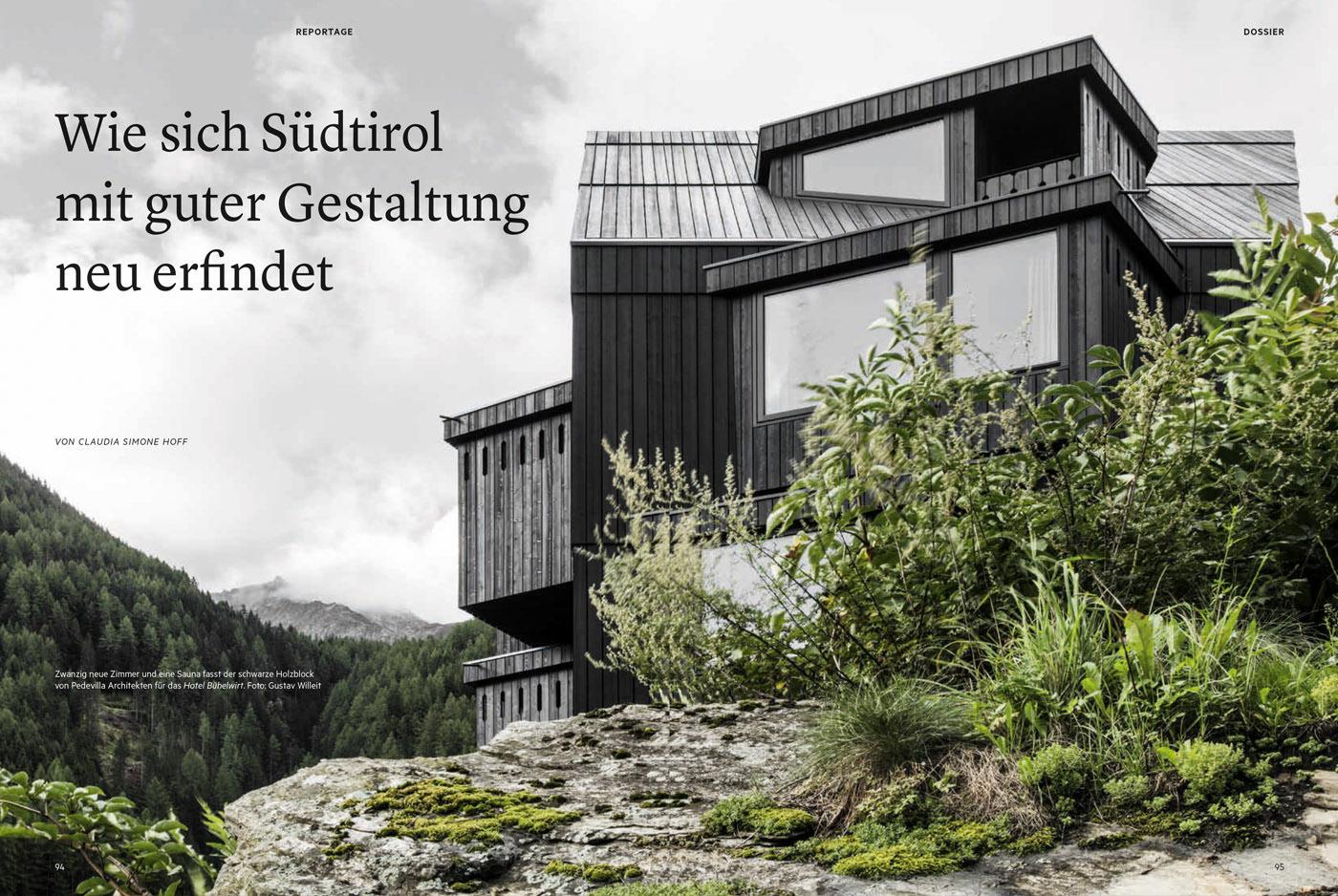 Pedevilla architects for Architekt gastronomie