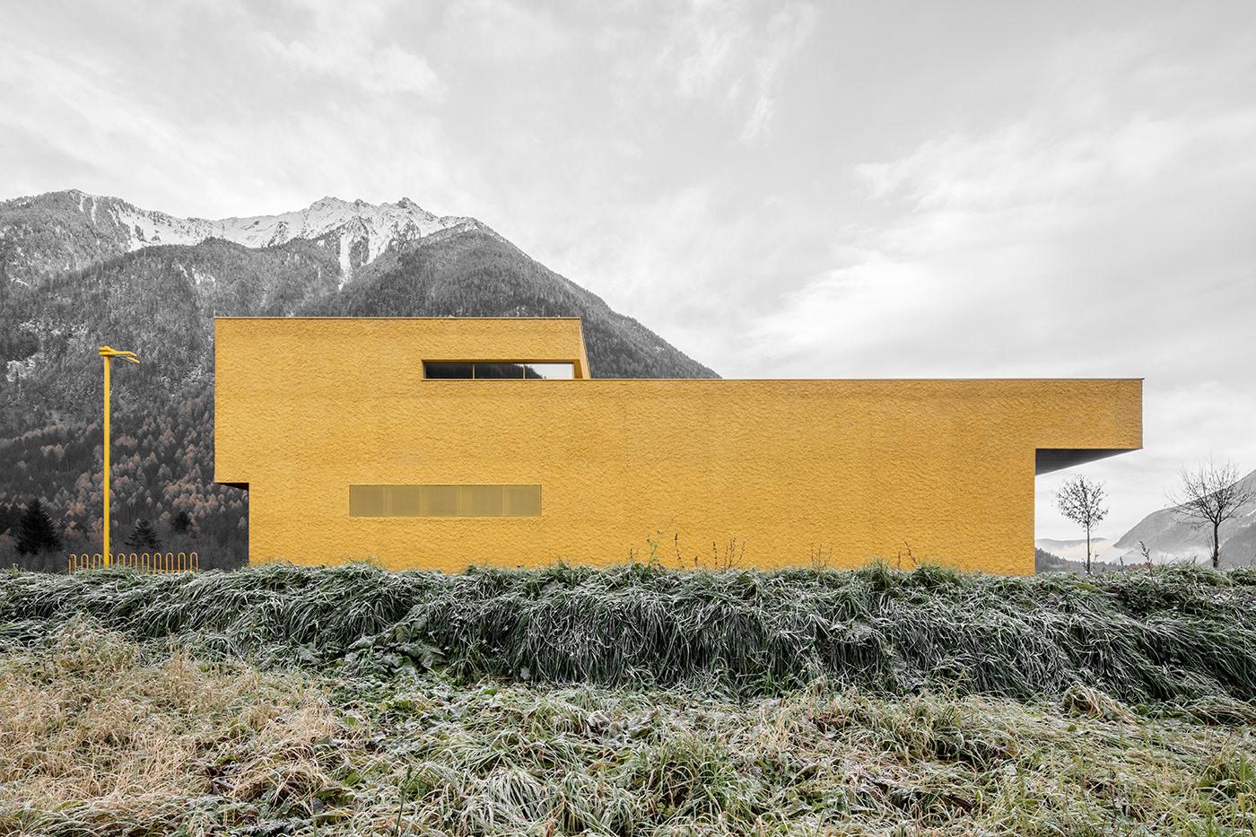 pedevilla architects feuerwehr sand in taufers i. Black Bedroom Furniture Sets. Home Design Ideas