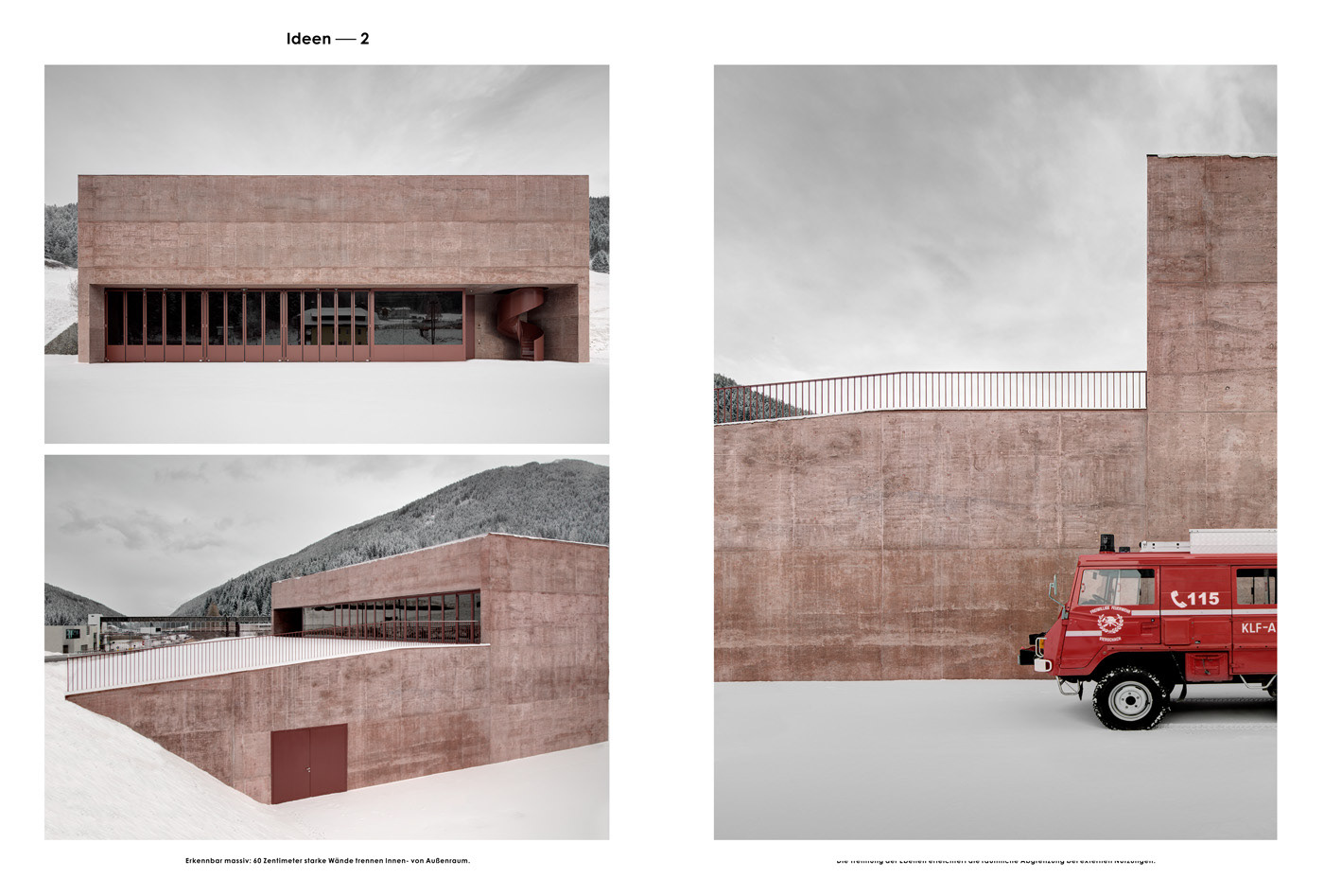 PEDEVILLA ARCHITECTS . - Baumeister Magazin - September 2016