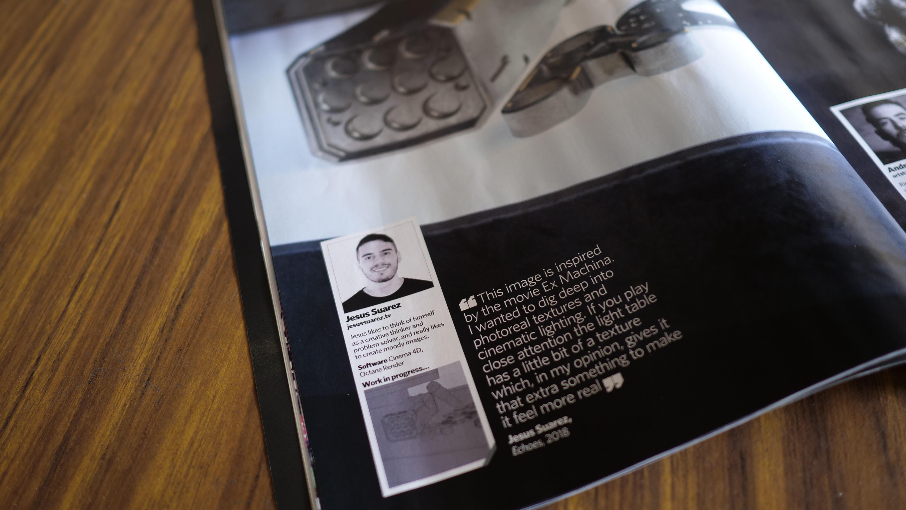 Jesus Suarez | Motion Designer & 3D Generalist - Light Table