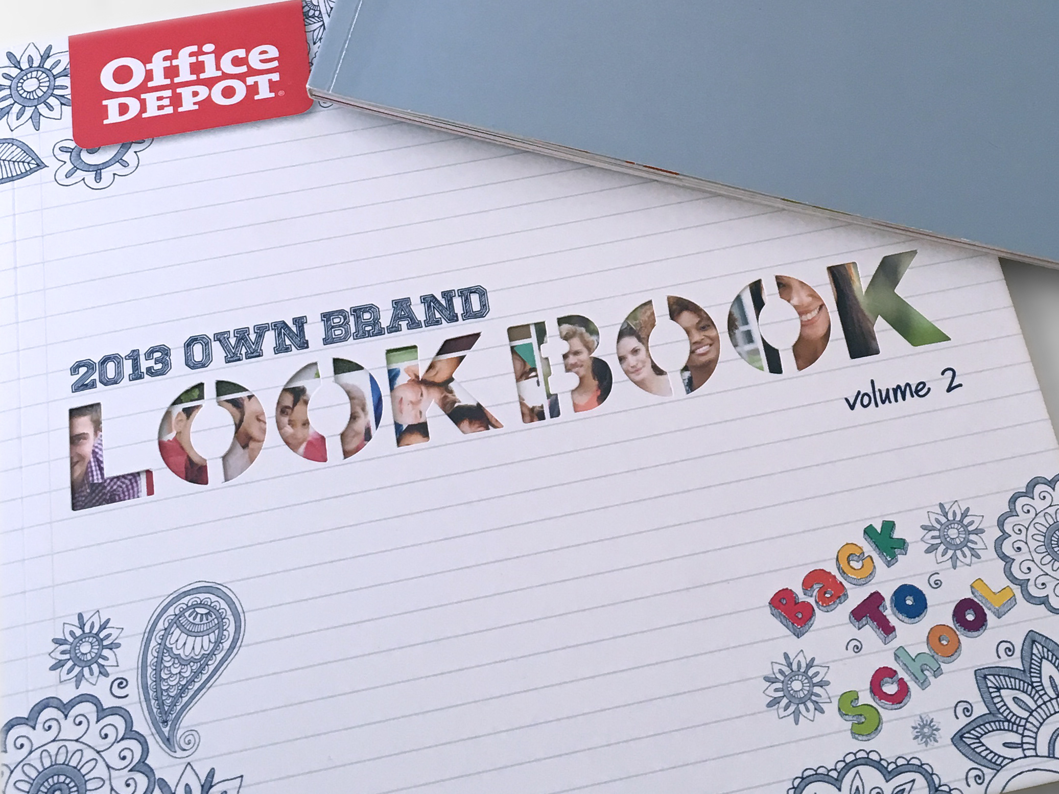 Mary Sarlo Carmichael Office Depot Lookbook Redesign