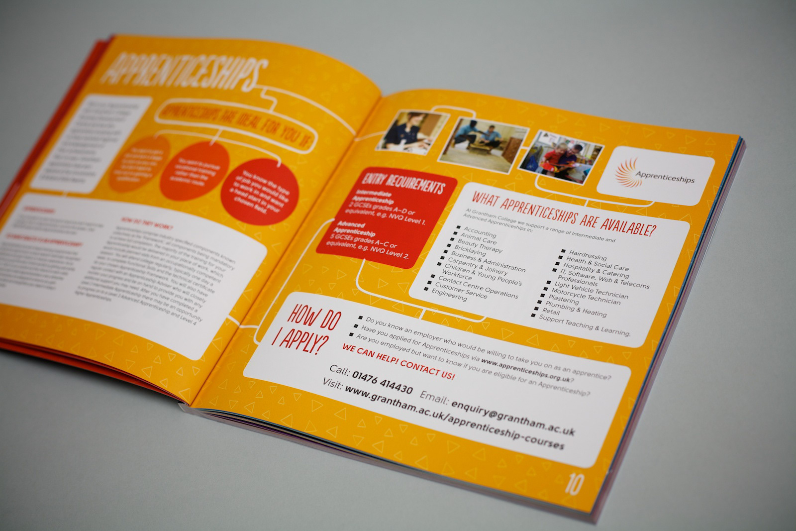 Joseph Arch - College is the Choice 14-15 Full-Time Courses Brochure