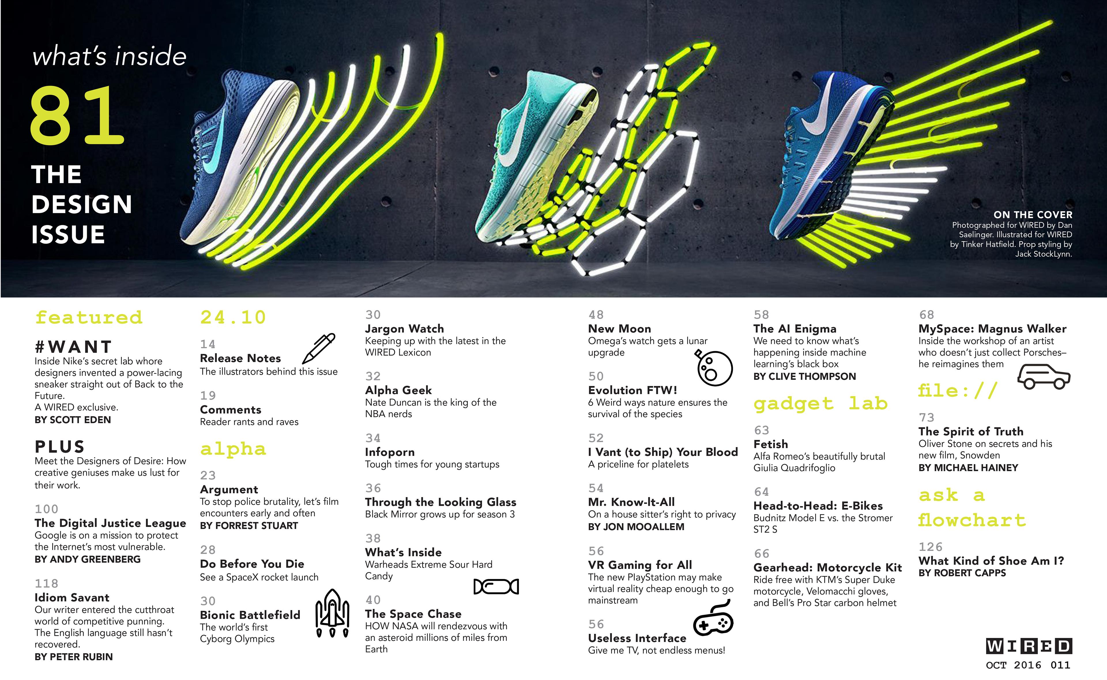 Elizabeth Hartley Design - Table of Contents Spread