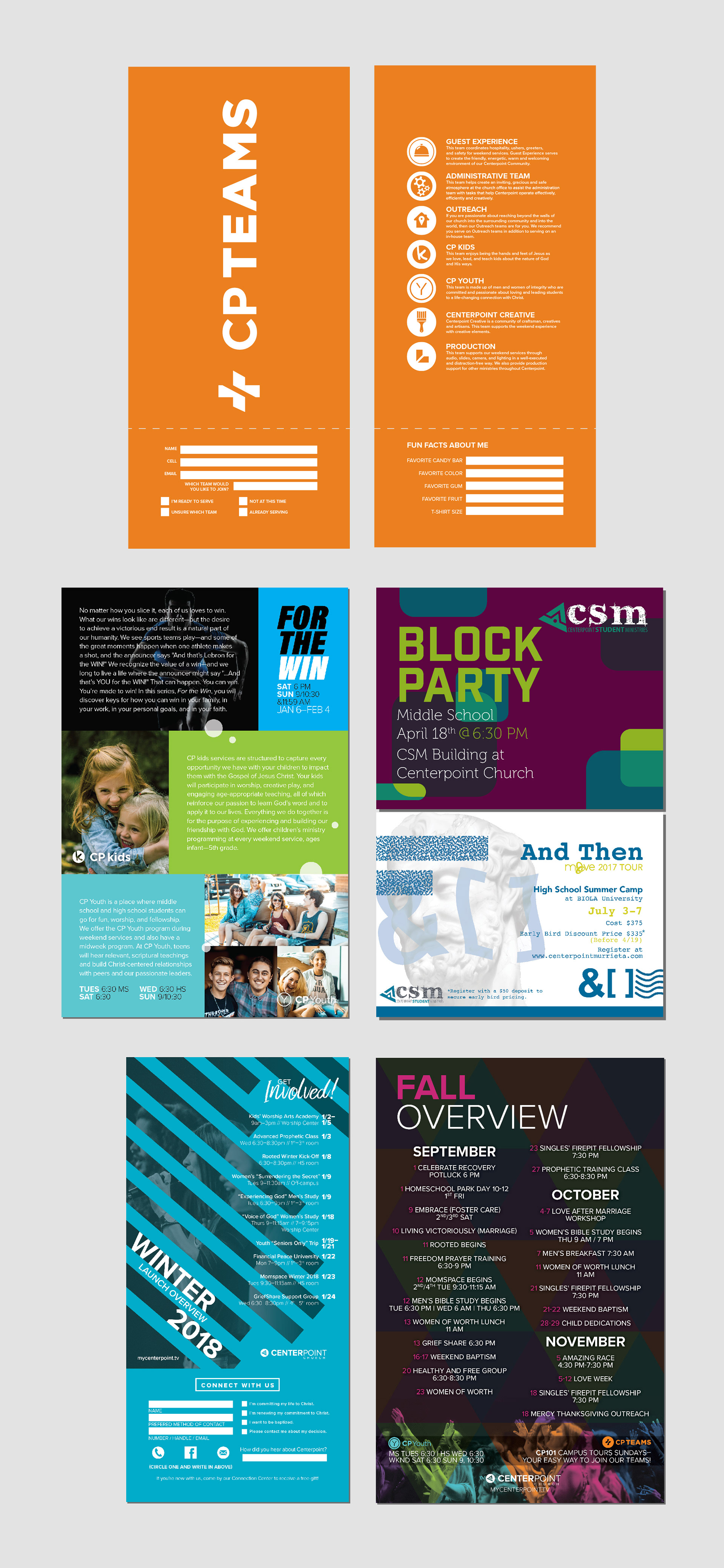 Ricky franklin print design for centerpoint church 2017 print designs for centerpoint church including advertisements informational publications invitation and business cards letterhead templates and more colourmoves