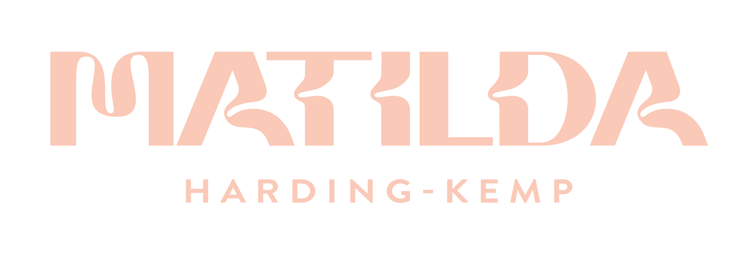 M A Harding-Kemp