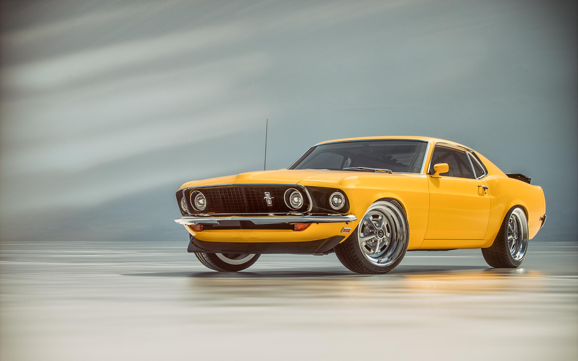 Bartosz Peksa 1969 Ford Mustang Boss 302