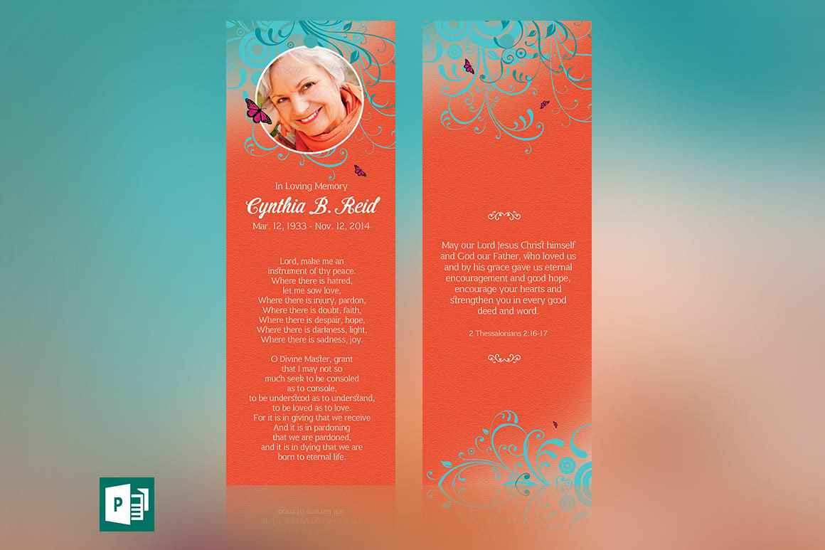 Michael taylor godserv print template portfolio for Bookmarks templates for publisher