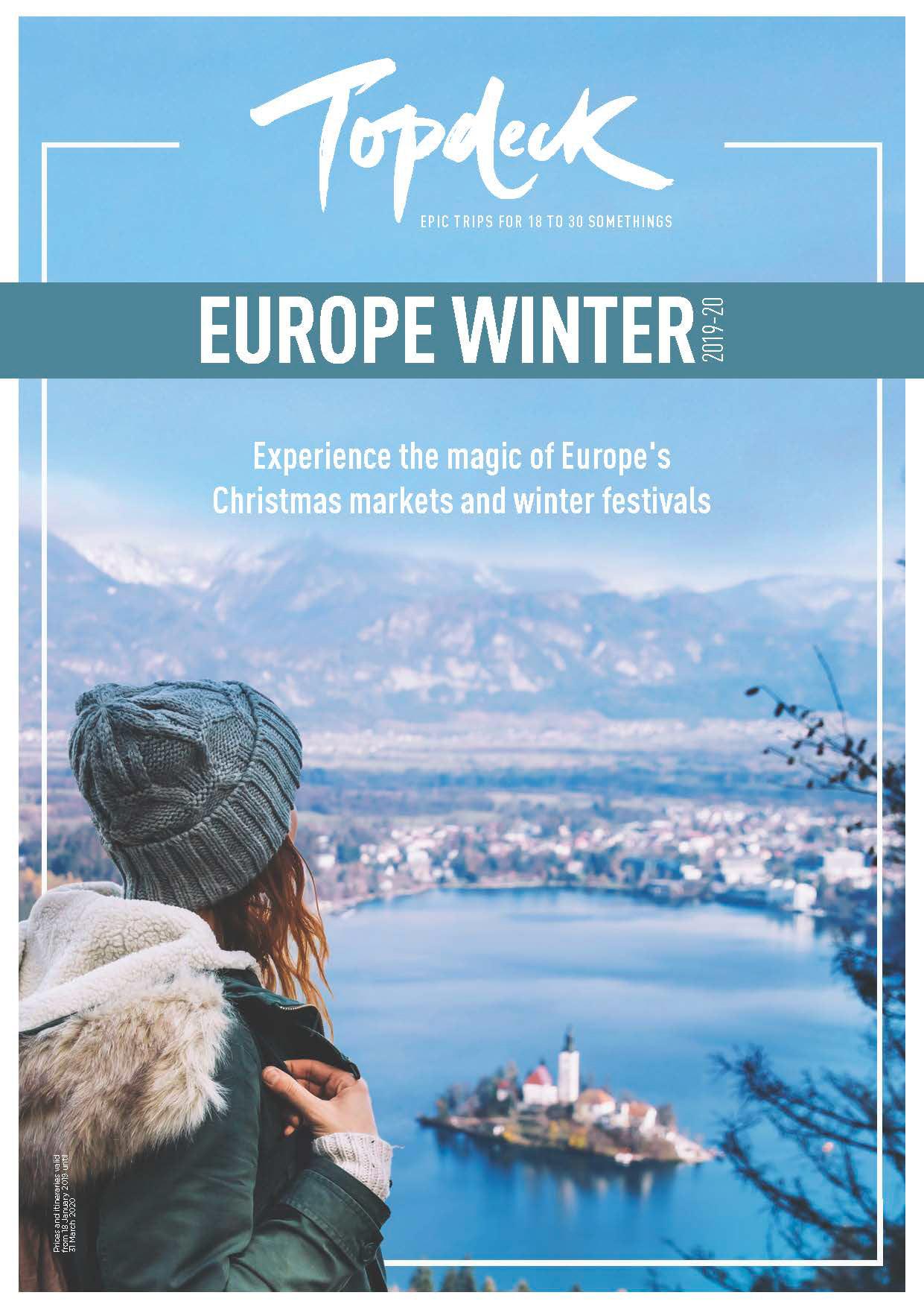 James Neale   Topdeck Europe Winter Brochure