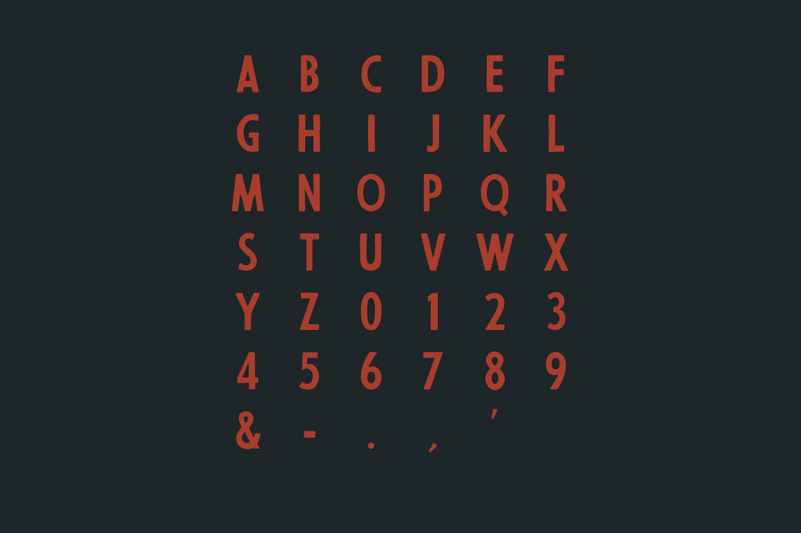 James Lafuente - 56th Street (Free Font)