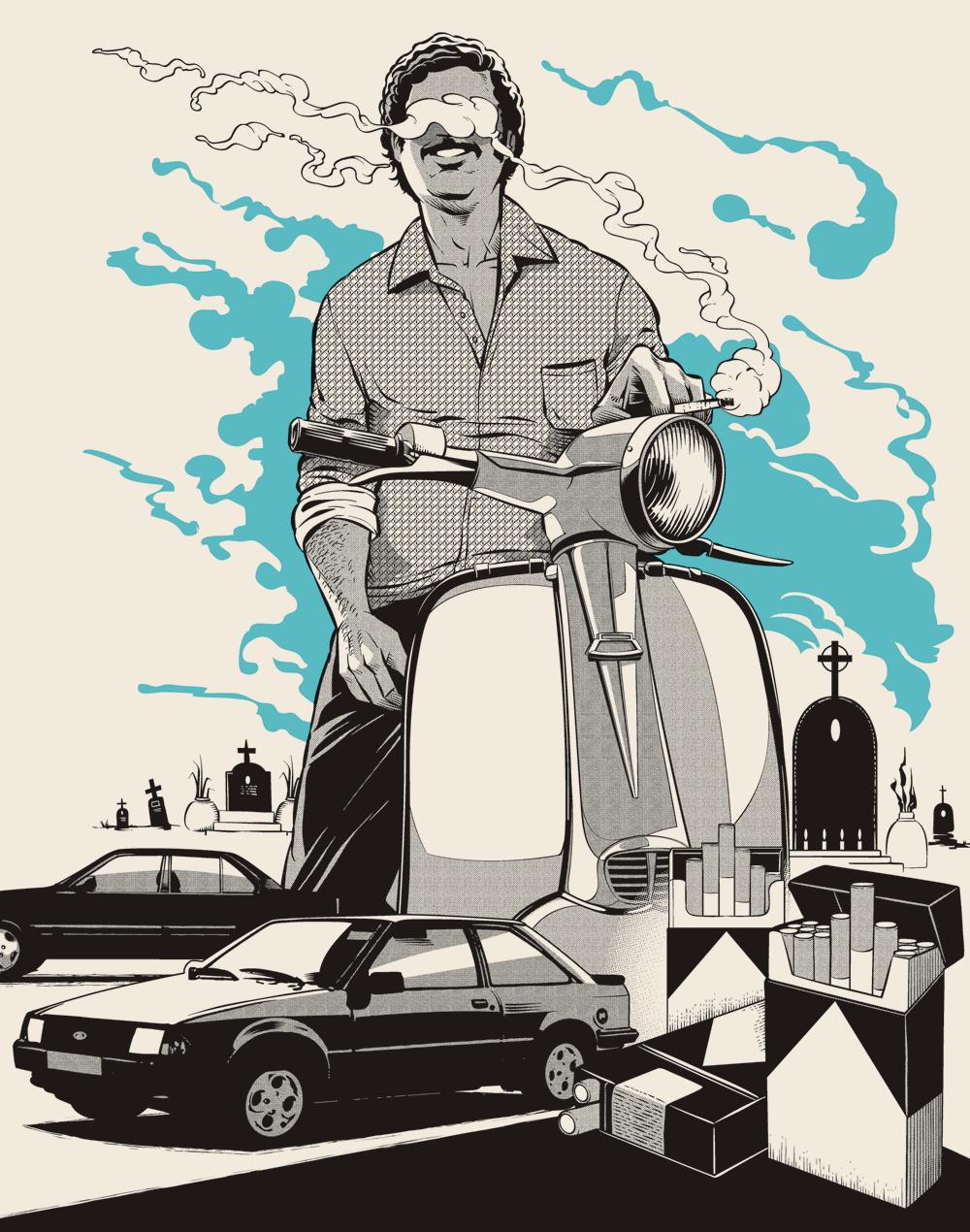 Cristiano Siqueira Pablo Escobar