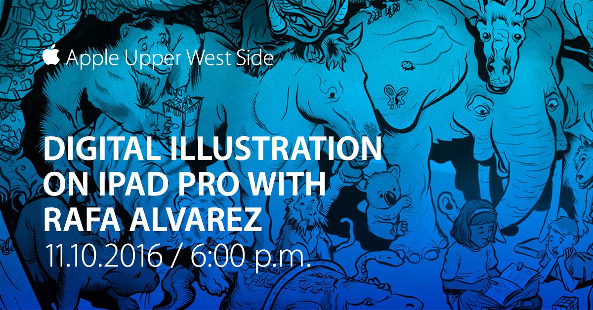 Rafa Alvarez Illustration Workshops