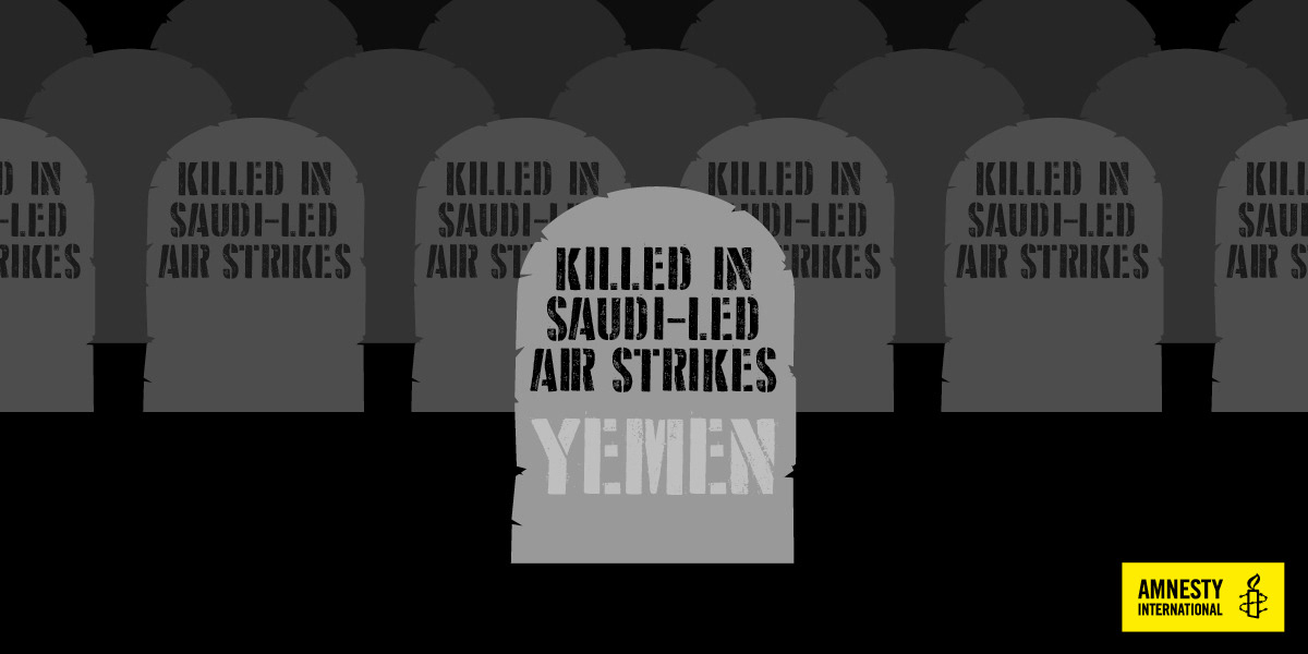 Lou Dunn - 'Stop arming Saudi Arabia' campaign