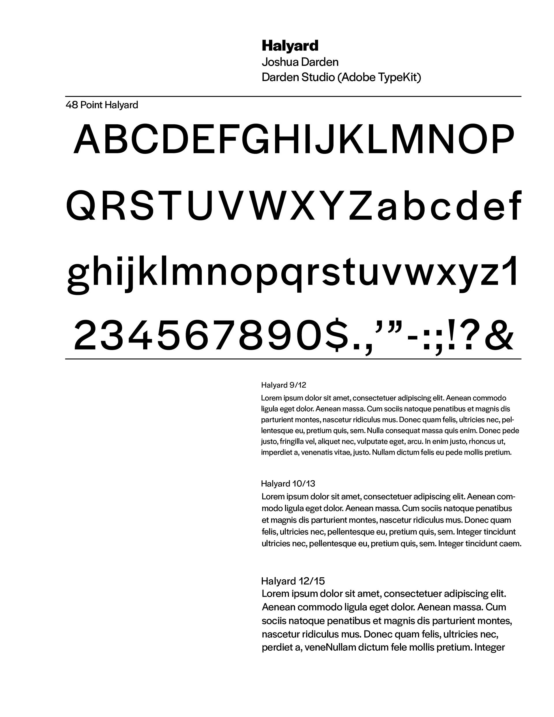 Margaret Sheridan - Typography