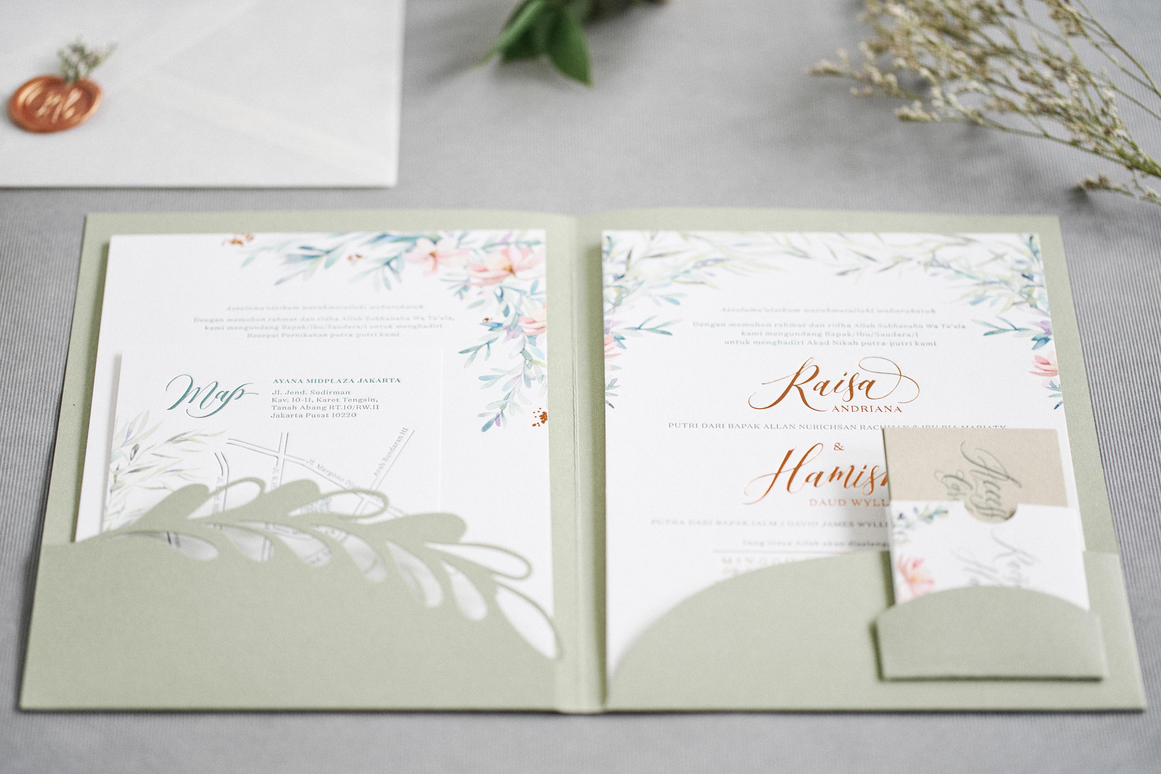 Effie Herdi Wedding Invitation Raisa