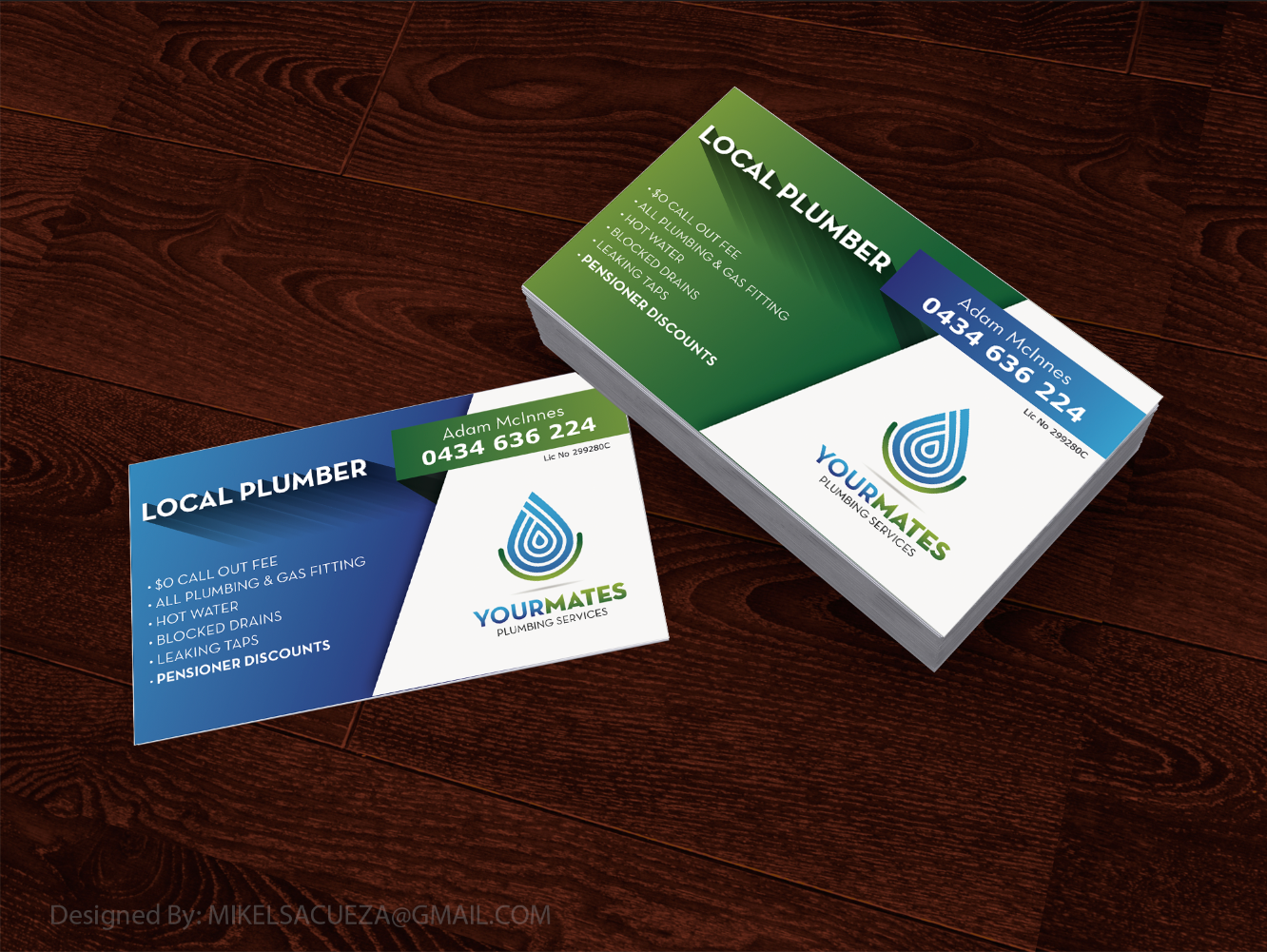 Graphic Design Portfolio - BUSINESS CARD DESIGN