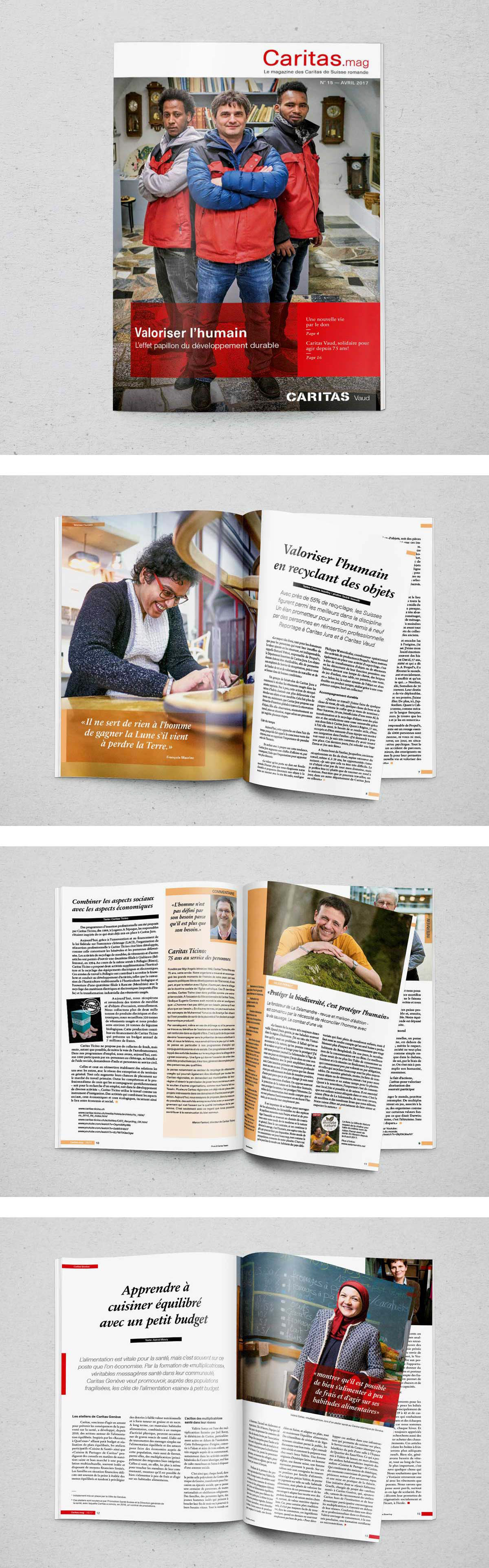 Magazine Apprendre La Photo tierschule . - caritas magazine