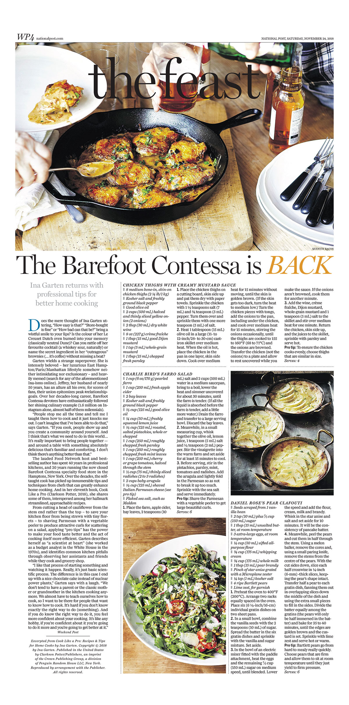 Laura Brehaut The Barefoot Contessa Is Back