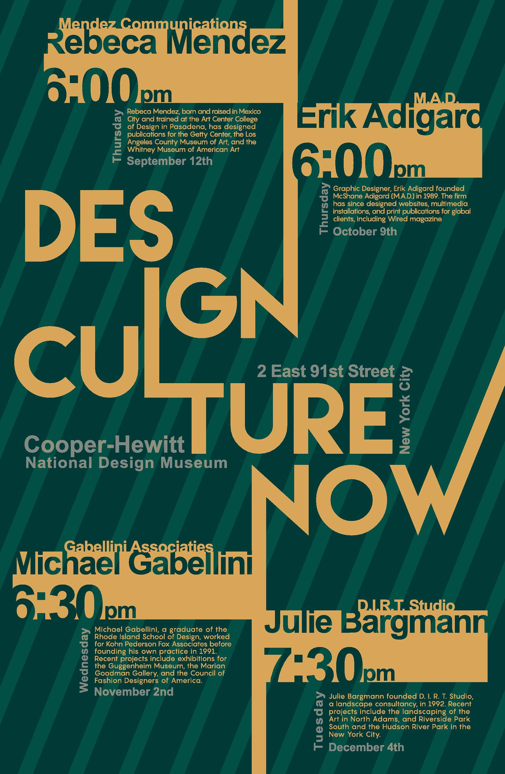 Candice Guy - Design Culture Now