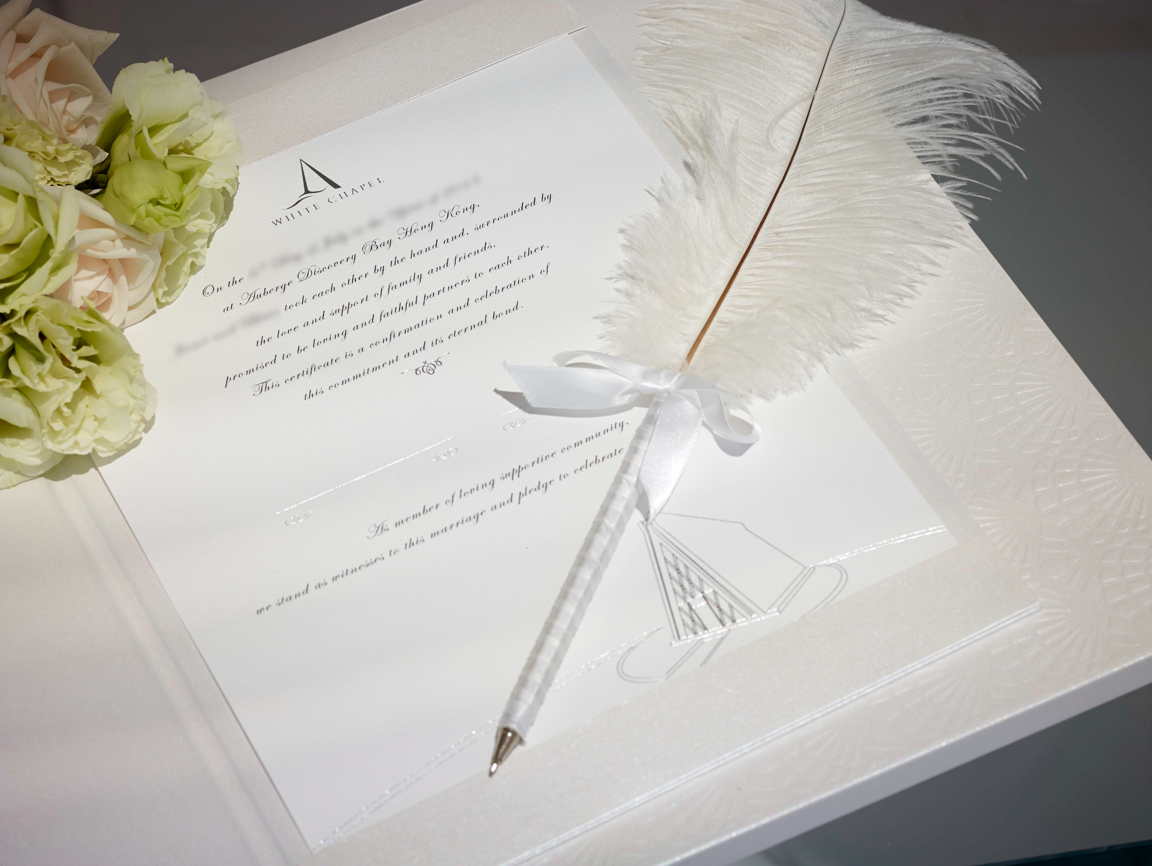 TERESA CREATION - Auberge Wedding Stationary