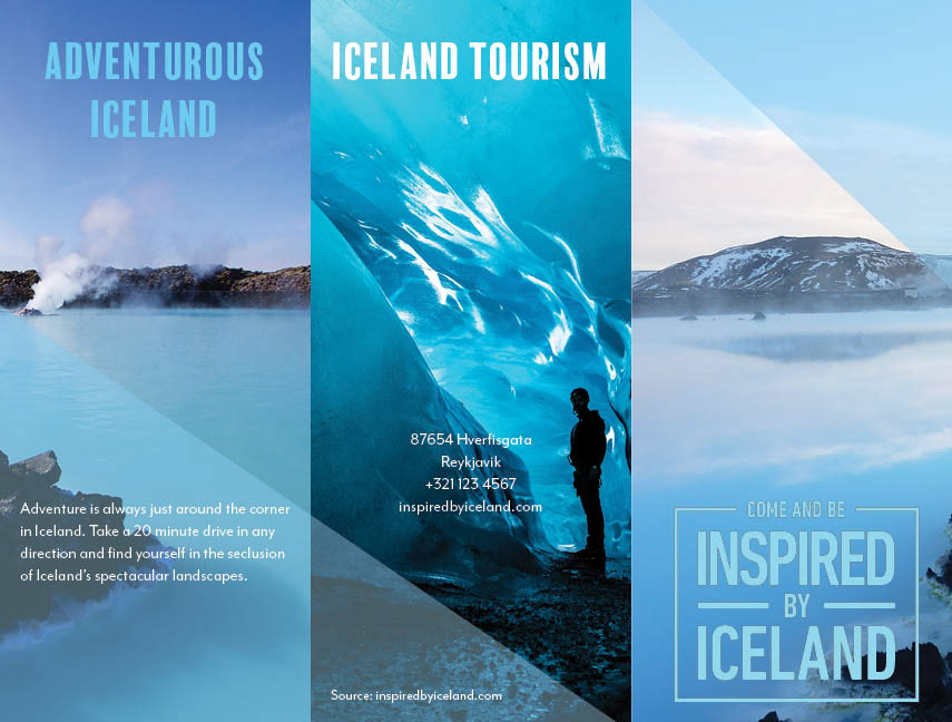 sam stoat travel brochure iceland
